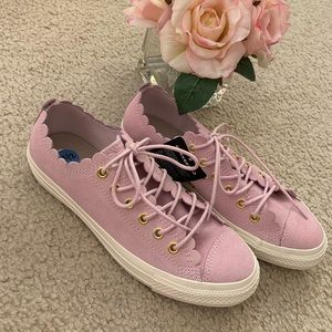 New Converse All Star Scallop Sneakers 7.5